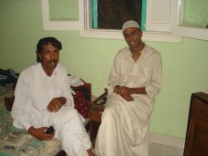 Prince Salim and friend
