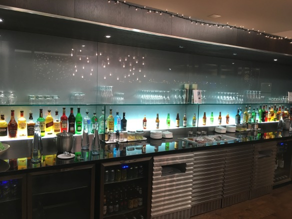 Alcohol in BA Lounge