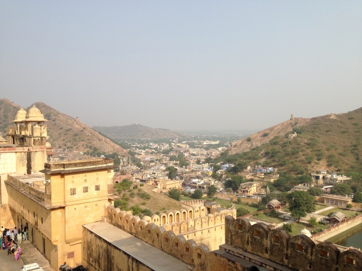 jaipur-from-amber-fort