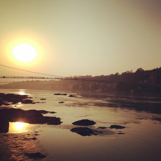 sunset-on-the-ganga