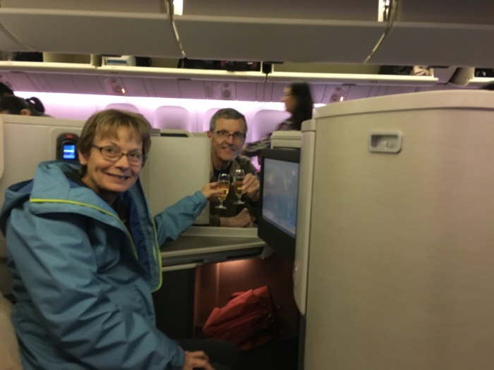 Champagne on Cathay