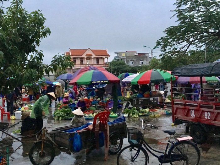 Quan Lan Island morning market
